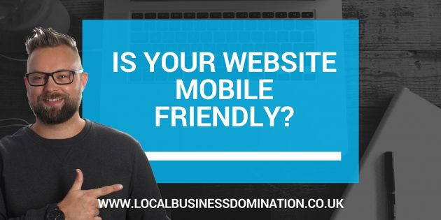 is my website mobile friendly?