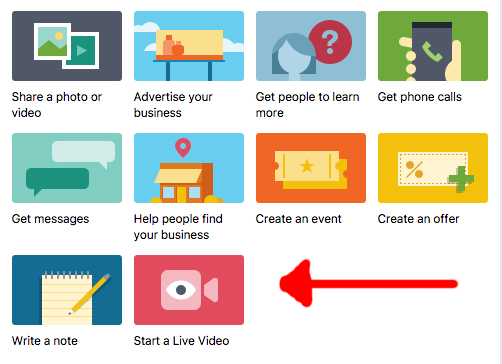 How To Facebook LIVE Video Broadcast On Your Business Page
